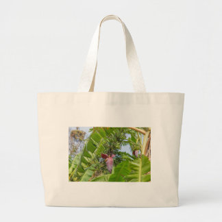 Banana plantation in Sok Kwu Wan Lamma Island Large Tote Bag