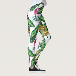 Banana Printed Leggings for women