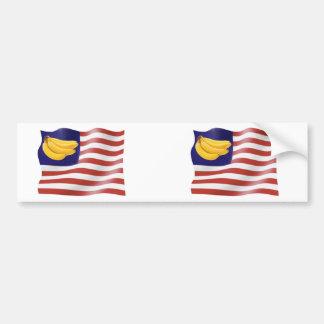 Banana Republic Bumper Sticker