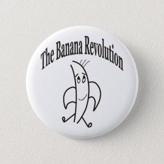 BANANA REVOLUTION 2 INCH ROUND BUTTON