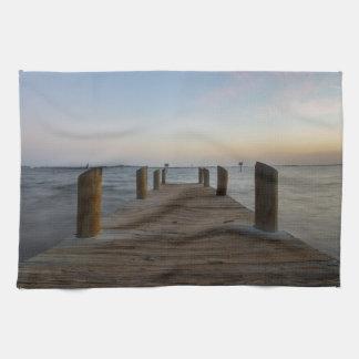 Banana River Dock Hand Towel