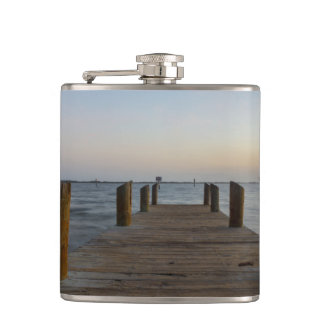 Banana River Dock Hip Flask