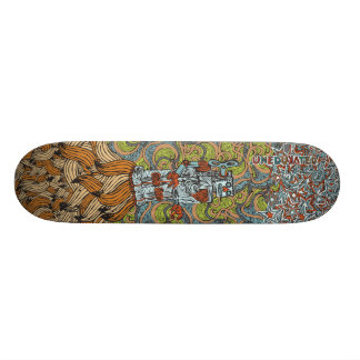 Banana Rocket Deck Skate Board Decks