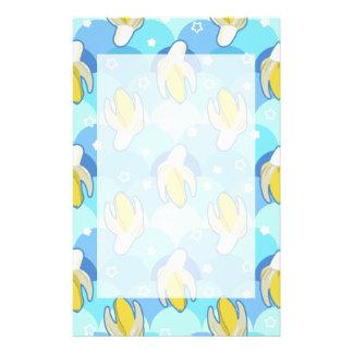 Banana Scallop Pattern Stationery