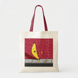 Banana Slipping on a Person Bag