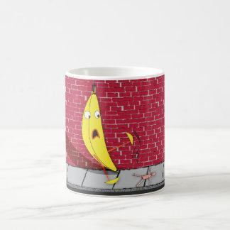 Banana Slipping on a Person Mug