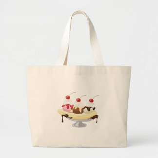 Banana Split Large Tote Bag