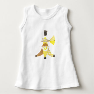 Banana Split No Background Baby Dress
