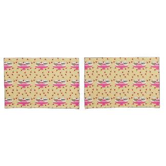 Banana Split Print Pillowcase