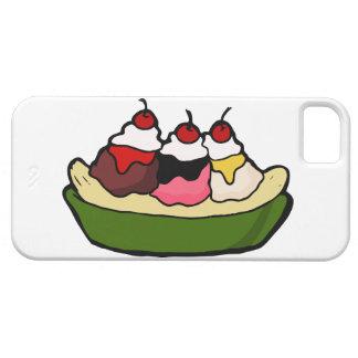 Banana Split Sweet Ice Cream Treat Cover For iPhone 5/5S