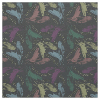 banana squirrel-grey fabric