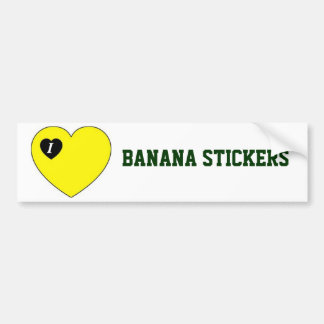Banana Sticker - Bumper Sticker