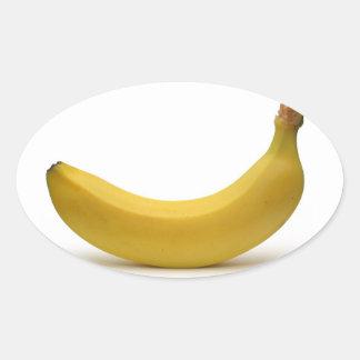Banana sticker! oval sticker