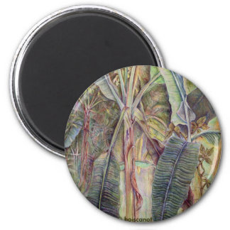 Banana Trees Magnet