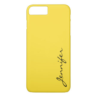 Banana yellow color background iPhone 7 plus case