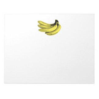 Banana Yellow Graphic Notepad