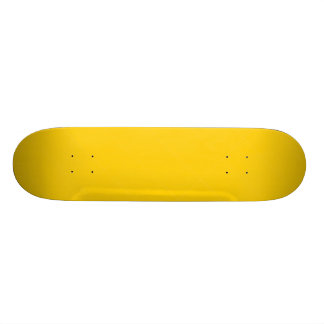 Banana Yellow Custom Skate Board