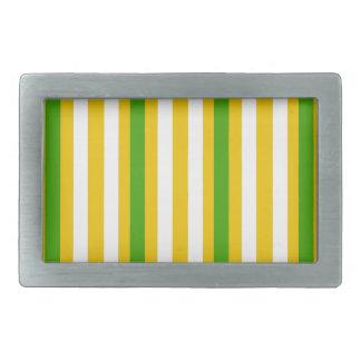 Banana Yellow Stripe Belt Buckles