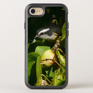 Bananaquit Bird Eating Tropical Nature Photography OtterBox Symmetry iPhone 8/7 Case