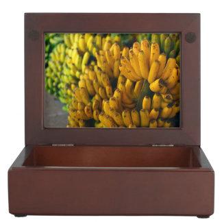 Bananas at night keepsake box
