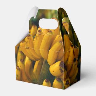 Bananas at night party favor boxes