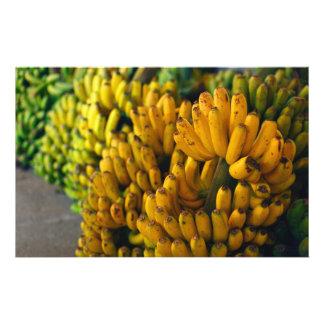 Bananas at night stationery