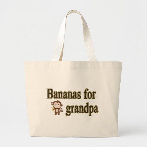 Bananas for grandpa bag