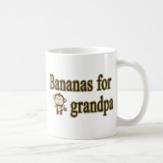 Bananas for grandpa coffee mug