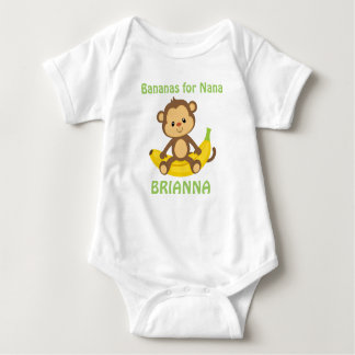 Bananas For Nana Baby Bodysuit