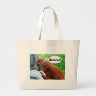 Bananas! Jumbo Tote Bag