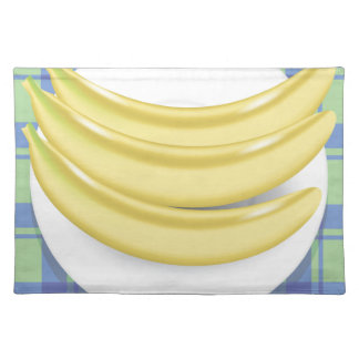 bananas placemat