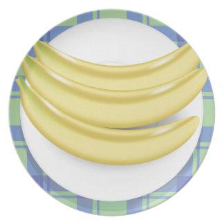 bananas plate