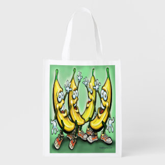 Bananas Reusable Grocery Bags