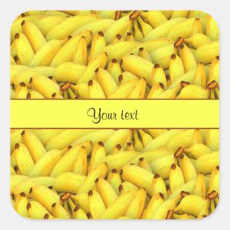Bananas Square Sticker
