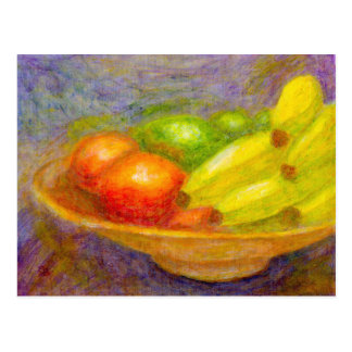 Bananas, Tomatoes and Limes, Postcard