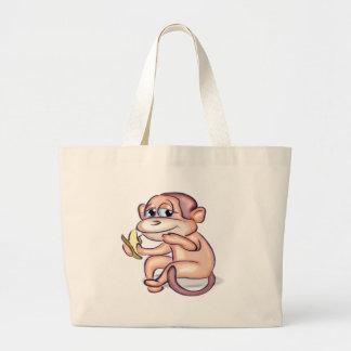 Banane mangeant le singe sac