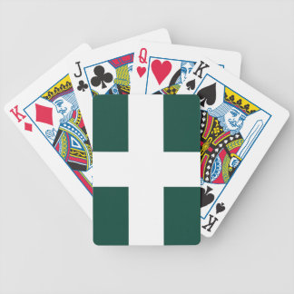 banat region flag bicycle playing cards