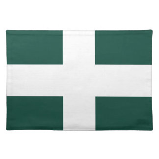 banat region flag placemat