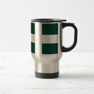 banat region flag travel mug