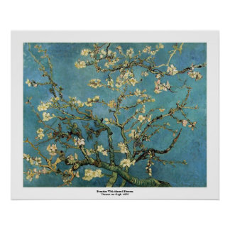 Banches with Almond Blossom by Vincent van Gogh Poster
