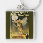 Bancroft the Magician c 1897 Keychain