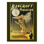 Bancroft the Magician c 1897 Postcard