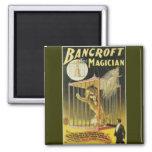 Bancroft the Magician c 1897 Refrigerator Magnet
