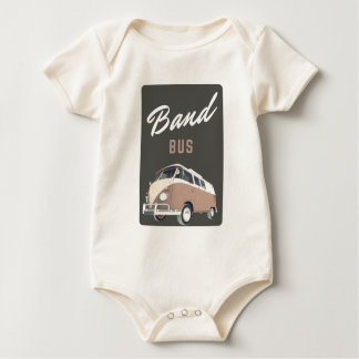 Band Bus Apparel Baby Bodysuit