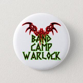 Band Camp Warlock 2 Inch Round Button