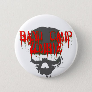 Band Camp Zombie 2 Inch Round Button