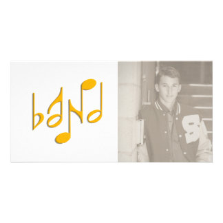 band custom photo card