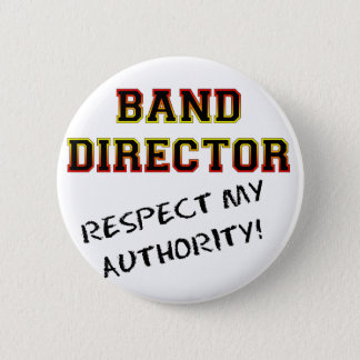 Band Director 2 Inch Round Button