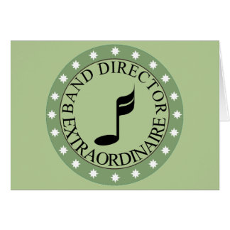 Band Director Gift Card