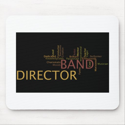 Band Director Mouse Pad